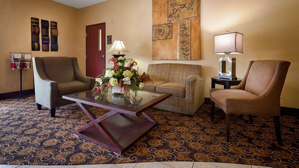Best Western Oakdale Inn - Vue du lobby