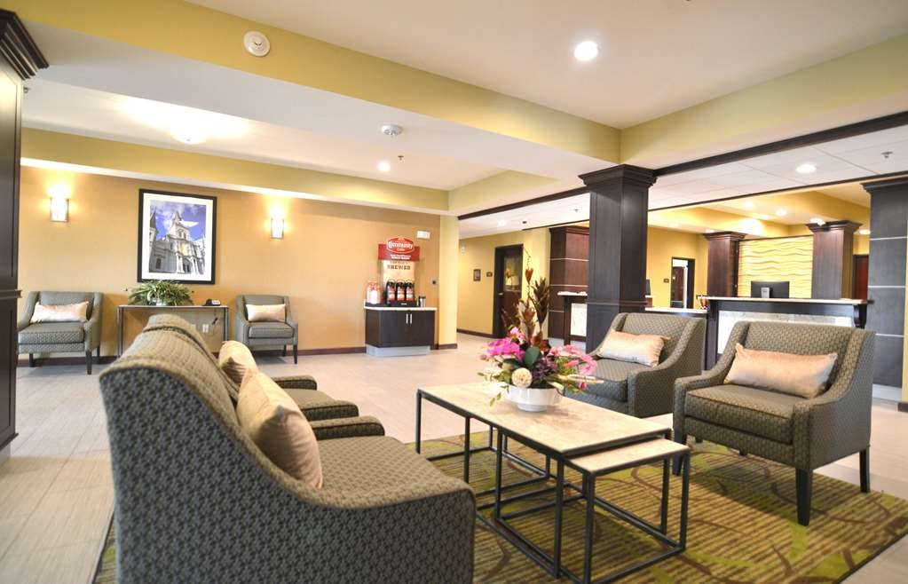Best Western Plus New Orleans Airport Hotel - Vista del vestíbulo