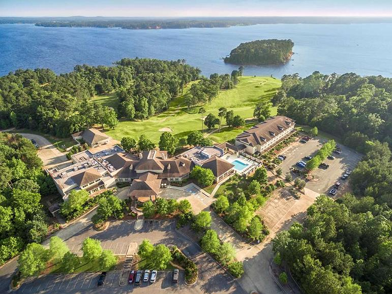 Cypress Bend Resort, BW Premier Collection - Amazing view of our 400 acre resort located on Toledo Bend Lake.