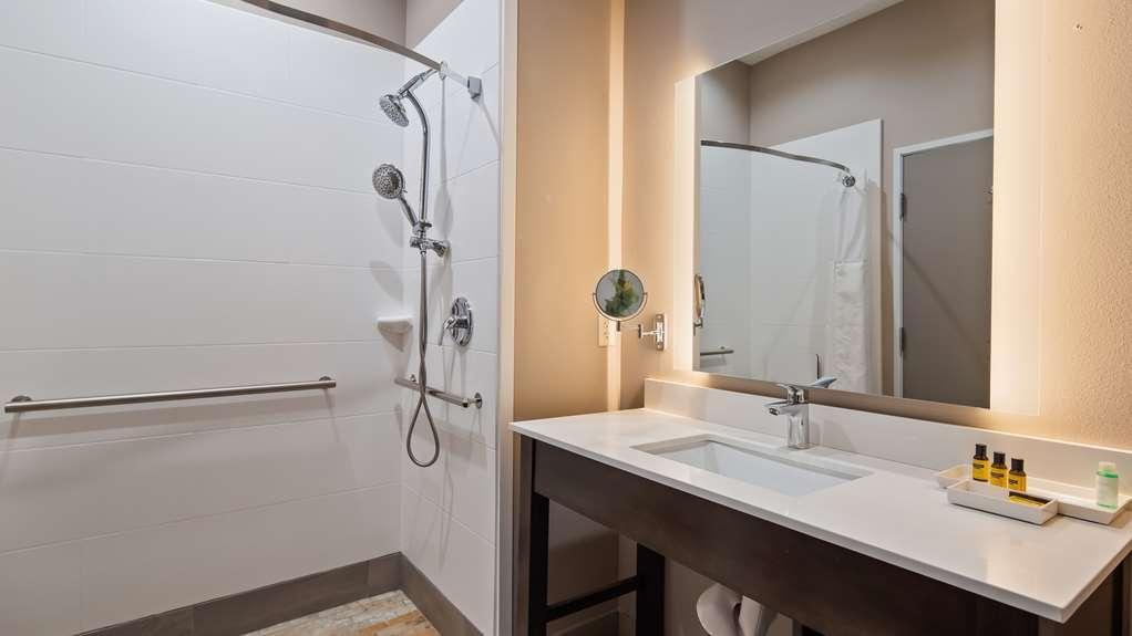 Best Western Plus Executive Residency Ascension Hotel - ADA Bathroom Roll in Shower