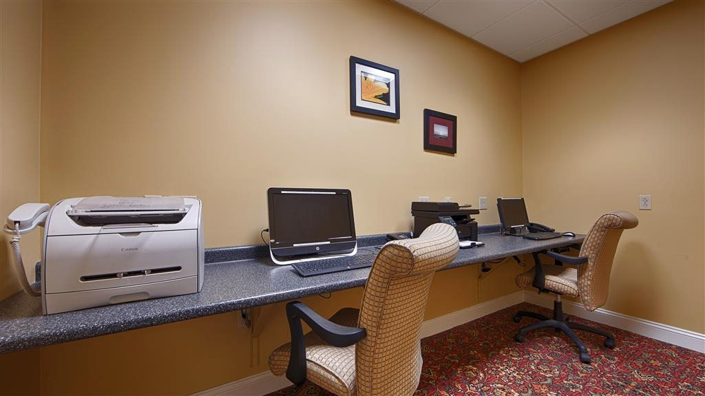Best Western White House Inn - Need to check your email, print your boarding passes or directions? Visit our business center.