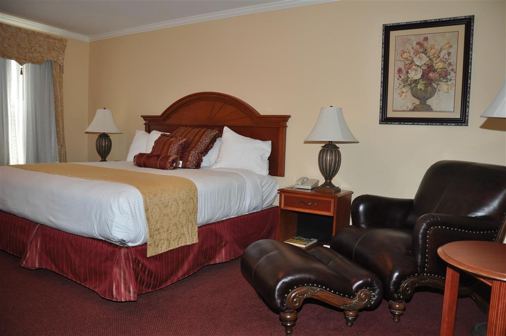 Best Western White House Inn - Feel at home when you walk into this king room with a fireplace.