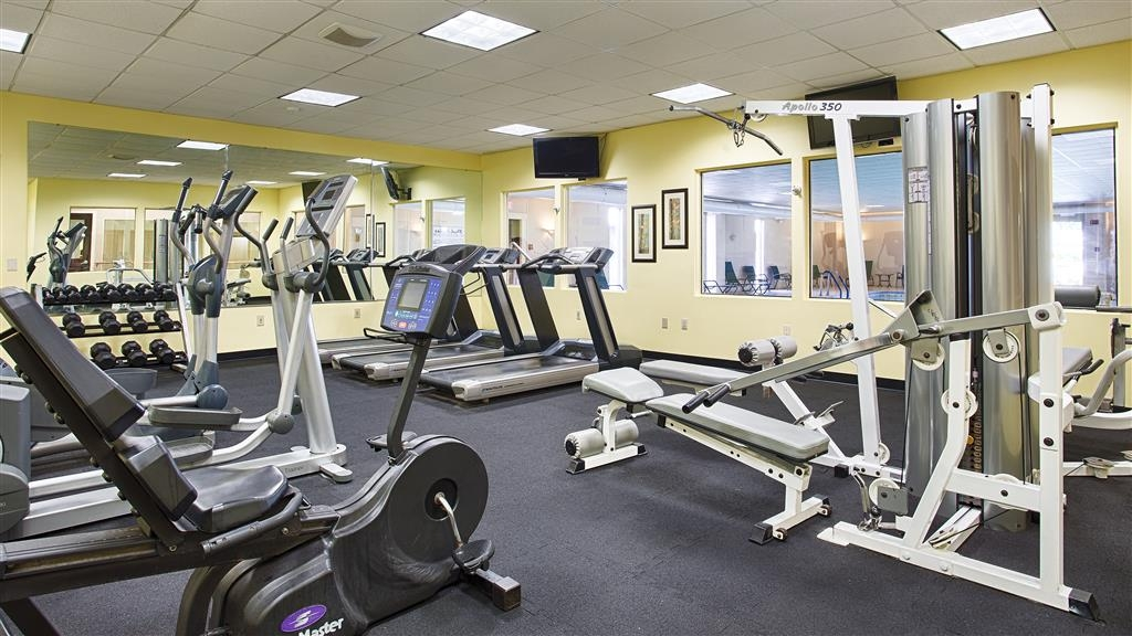 Best Western Plus Waterville Grand Hotel - There is no need to take a break from your regular fitness routine during your stay with us.