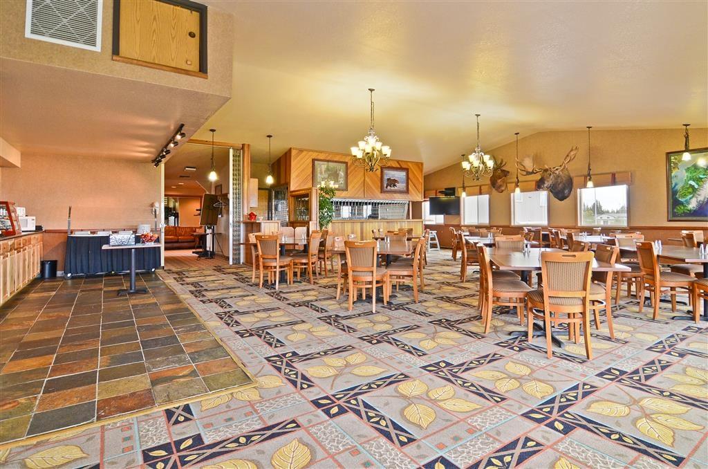 Best Western Bidarka Inn - Jede Zimmerbuchung umfasst ein kostenloses Frühstück.