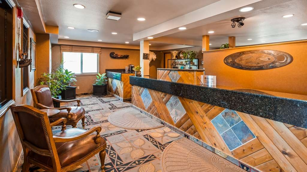 Best Western Bidarka Inn - Vue du lobby