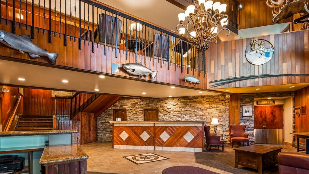 Best Western Kodiak Inn and Convention Center - Lobby and Front Desk
