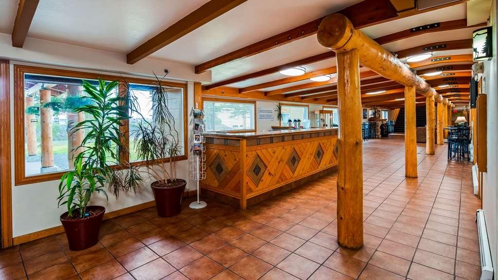 Best Western Valdez Harbor Inn - Vue du lobby