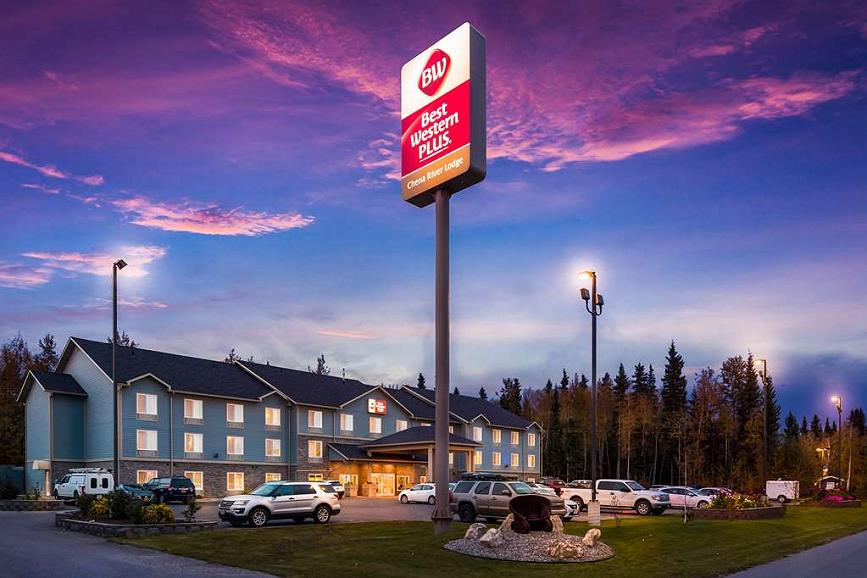 Best Western Plus Chena River Lodge - Area esterna