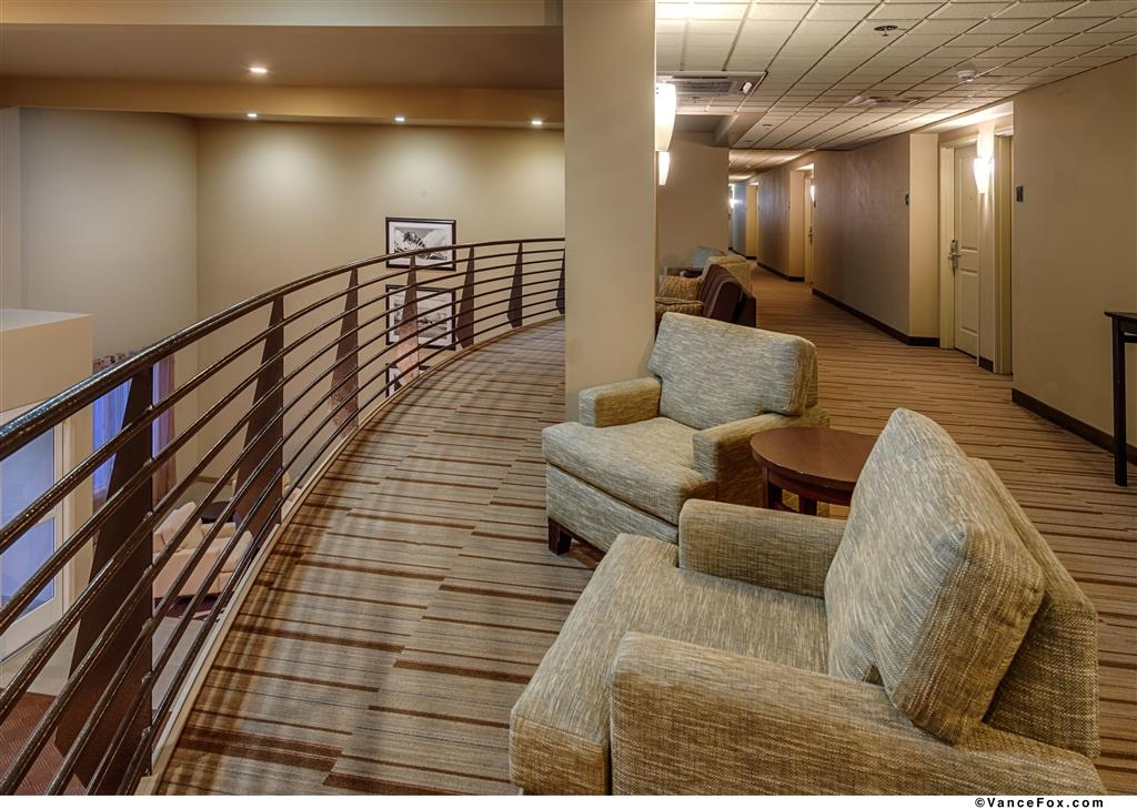 Best Western Plus Chena River Lodge - Our second floor balcony has comfortable seating and plugins