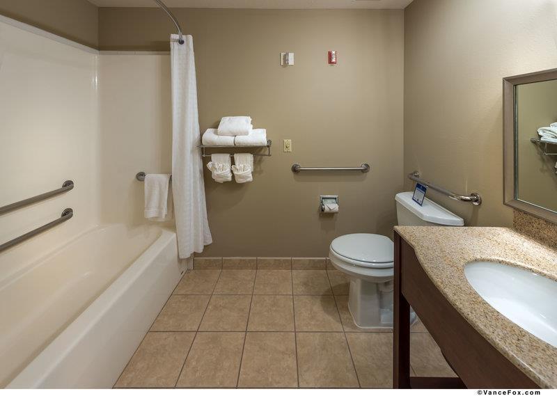 Best Western Plus Pioneer Park Inn - Salle de bains