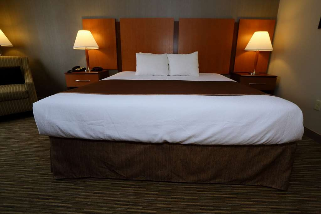 Best Western La Plata Inn - Sleep the night away in our king room.