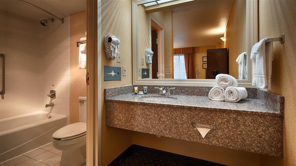 Best Western Salisbury Plaza - Salle de bain