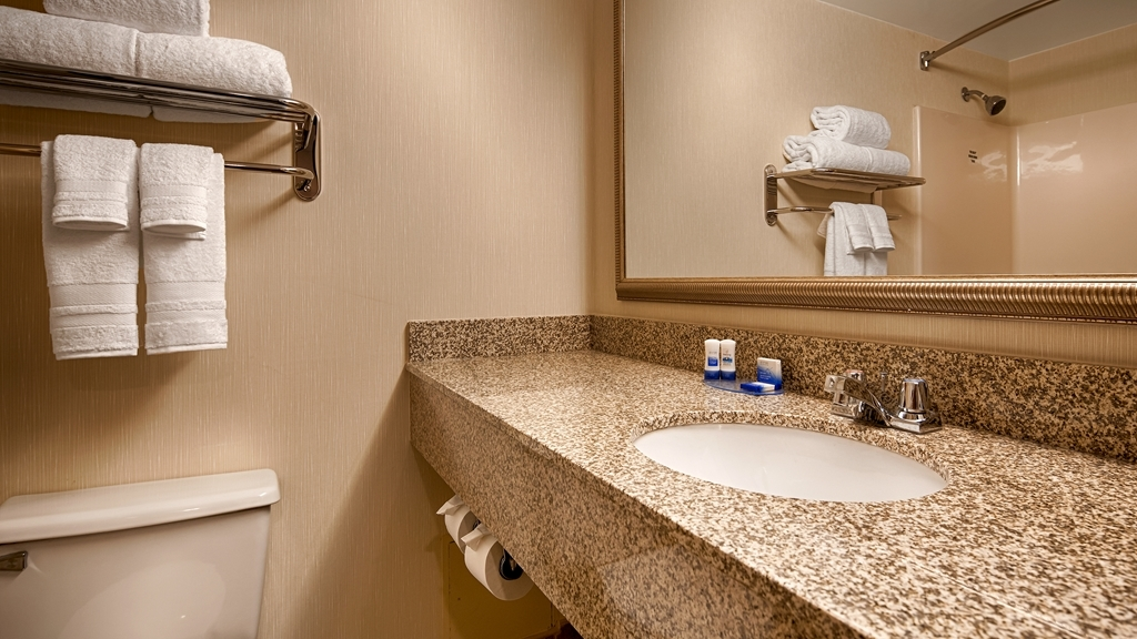 Best Western Royal Plaza Hotel & Trade Center - Salle de bain