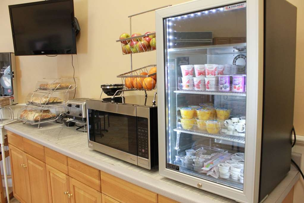 Best Western Merrimack Valley - Even if you're in a rush, grab a yogurt on the go.