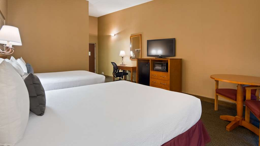 Best Western Merrimack Valley - Spacious Rooms with refrigerator and microwave in each room.