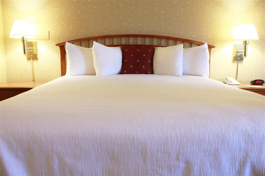 Best Western Merrimack Valley - Enjoy a moment of solitude before starting your day in our king bedroom.