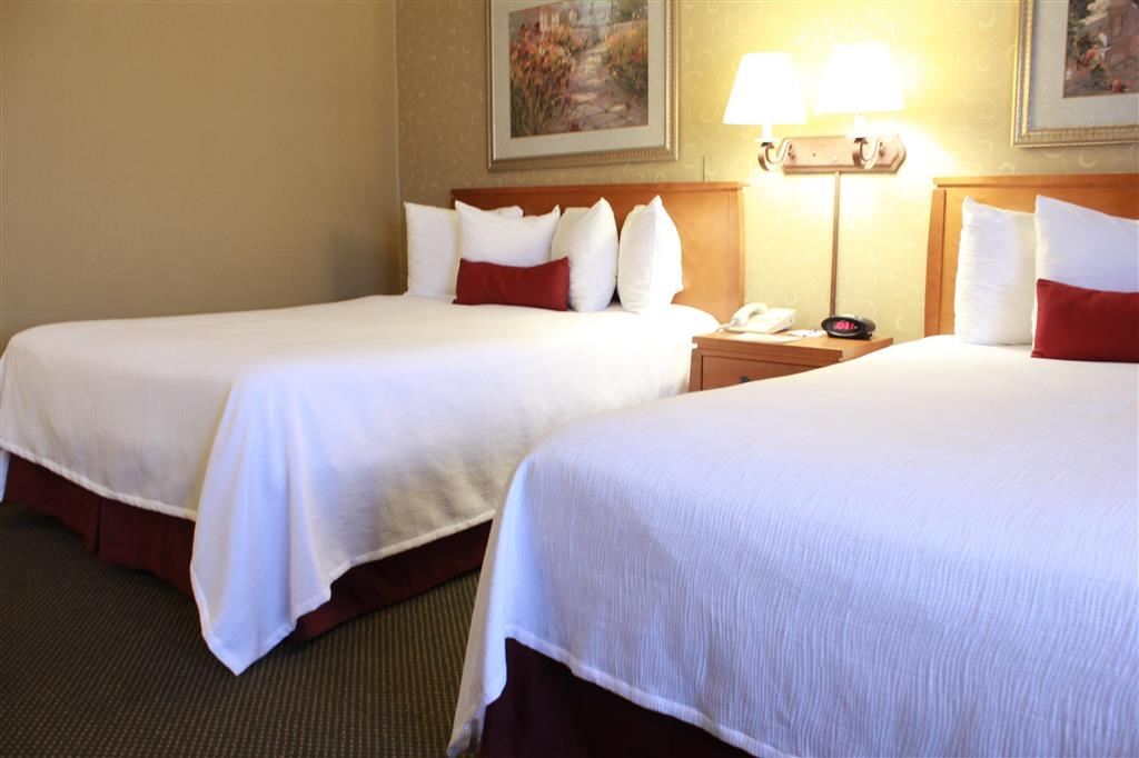 Best Western Merrimack Valley - We offer additional amenities including a microwave and refrigerator in our two queen bedrooms.