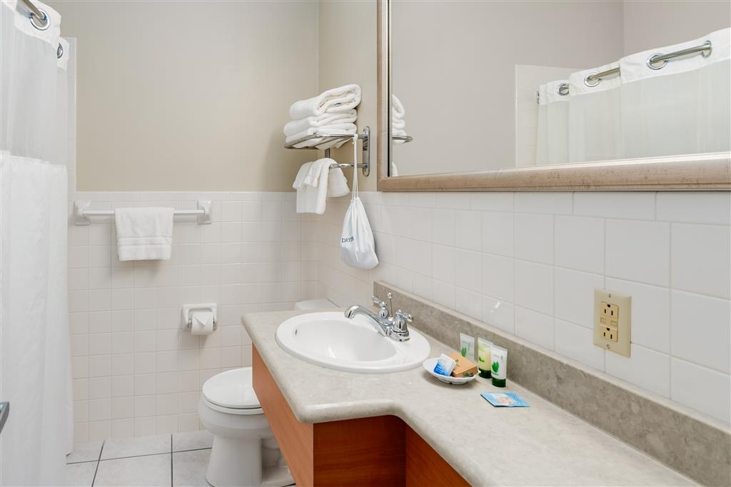 Best Western Plus Cold Spring - Forgot Shampoo? Don't worry we have you covered, complimentary shampoo, conditioner and lotion are provided.