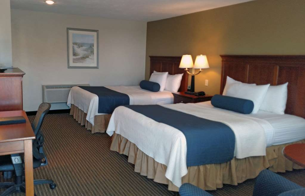 Best Western Plus Cold Spring - This standard two queen guest room offers free high-speed Internet and is located in the Hill Building by the pool.