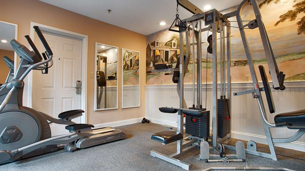 Best Western Plus Cold Spring - Our fitness center is outfitted with everything you need for a great workout.