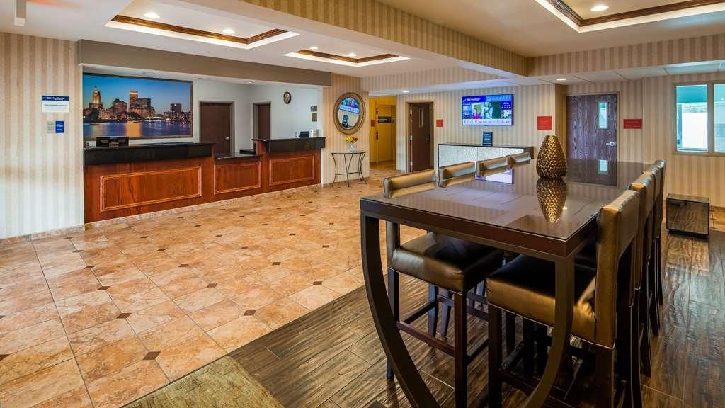 Best Western Providence-Seekonk Inn - Vue du lobby