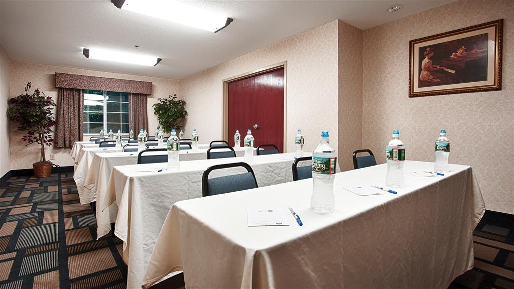 Best Western Plus Berkshire Hills Inn & Suites - Give us a call to check rates and book one of our meeting rooms.
