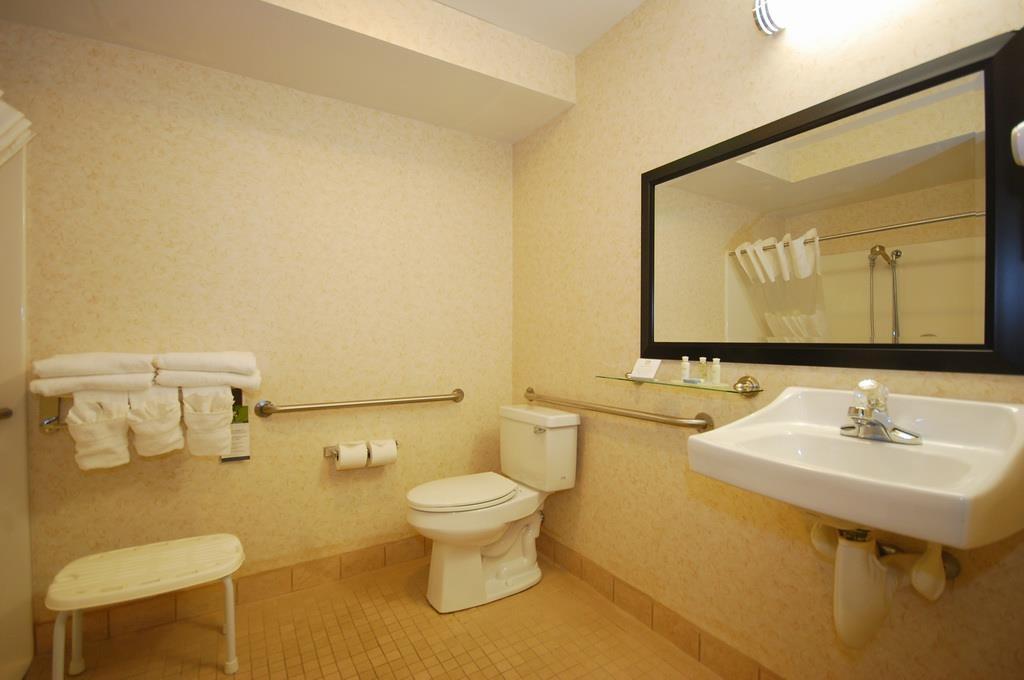 Best Western Plus Berkshire Hills Inn & Suites - Prenez soin de vous dans notre salle de bains accessible aux personnes à mobilité réduite.