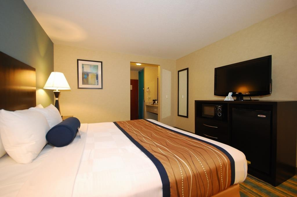 Best Western Plus Berkshire Hills Inn & Suites - Chambre avec lit king size