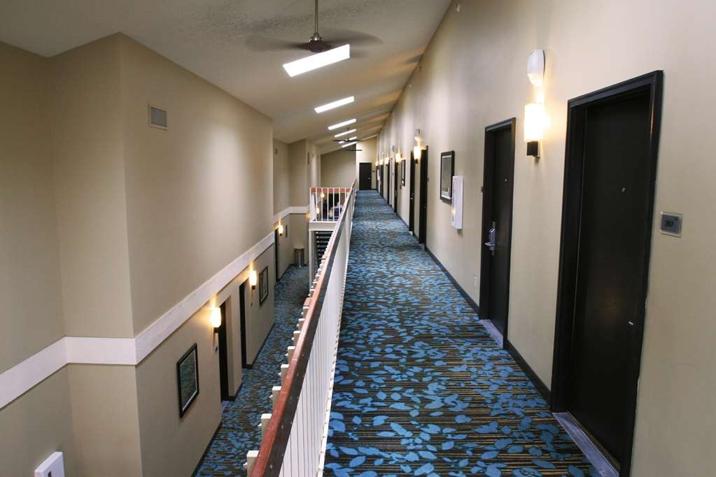 Best Western Plus Traverse City - Second Floor Guestrooms and Hallway