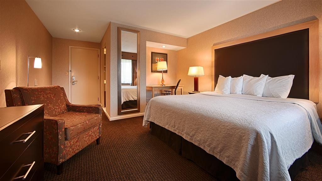 Best Western River Terrace - King Bed Guest Room