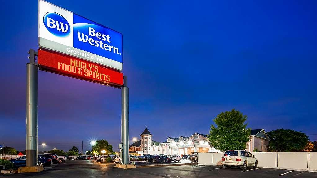 Best Western Greenfield Inn - Area esterna