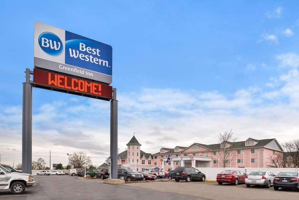 Best Western Greenfield Inn - Vista Exterior