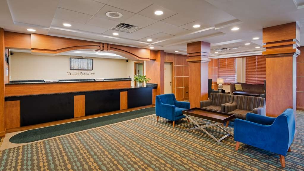 Best Western Valley Plaza Inn - Vue du lobby