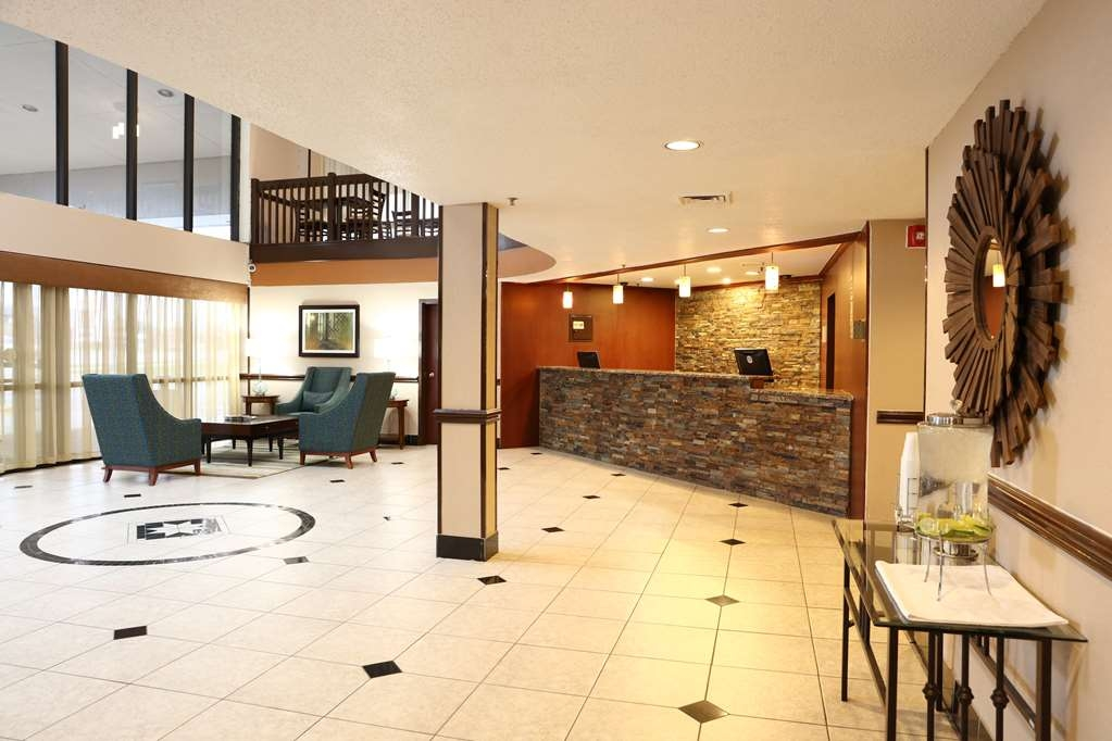 Best Western Hospitality Hotel & Suites - Notice our newly renovated front desk the moment you step inside!