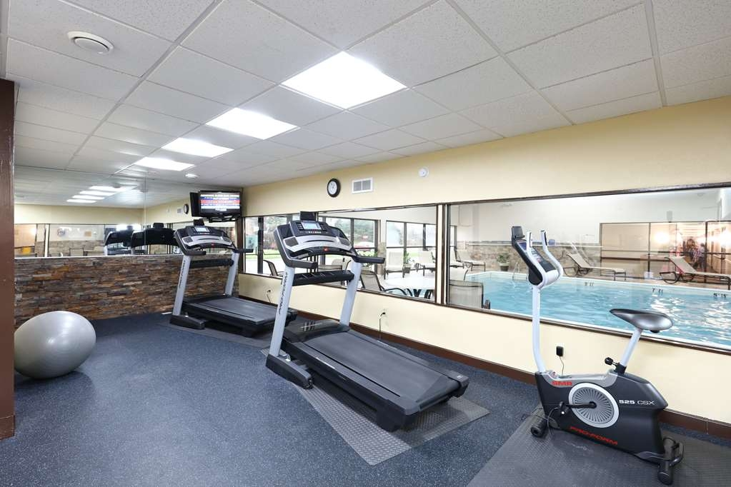 Best Western Hospitality Hotel & Suites - Don't forget to check out our exercise room while you visiting us.