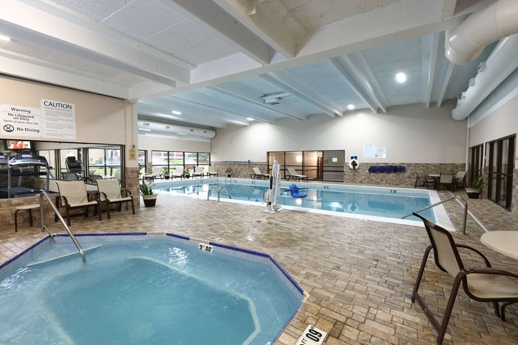 Best Western Hospitality Hotel & Suites - Come see our recently remodeled pool area.