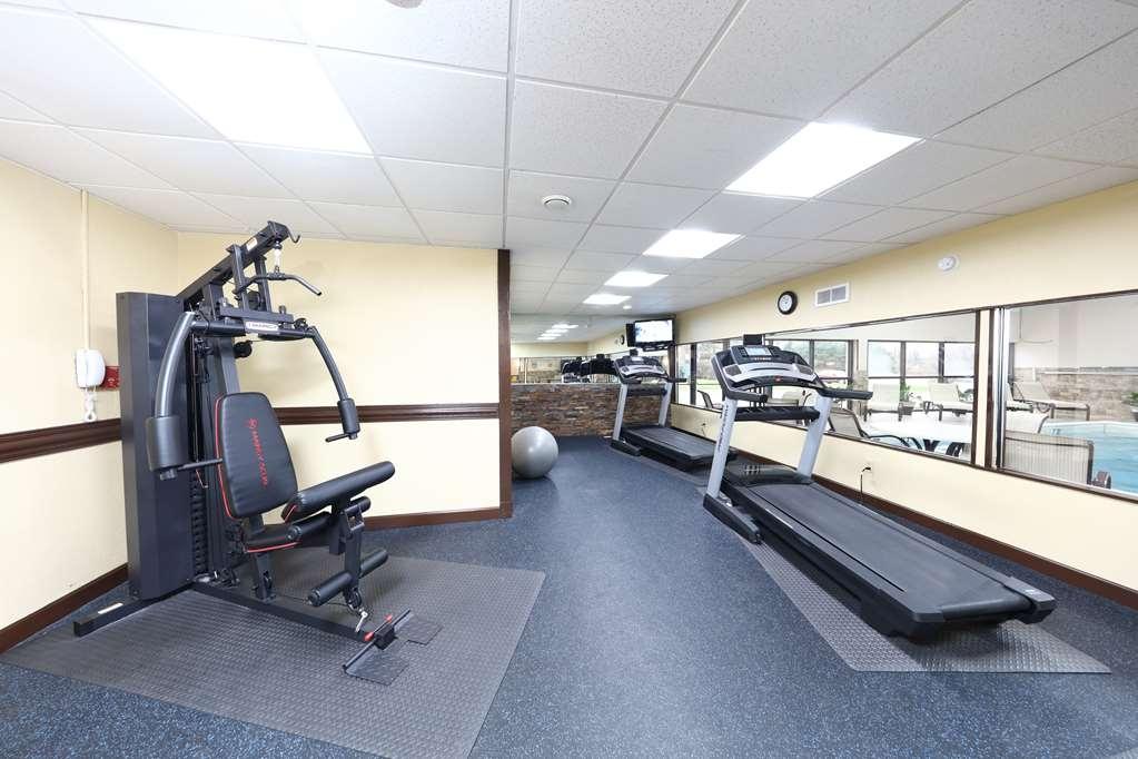 Best Western Hospitality Hotel & Suites - In unserem voll ausgestatteten Fitnessstudio können Sie Ihr Trainingsprogramm auch auf Reisen aufrechterhalten.
