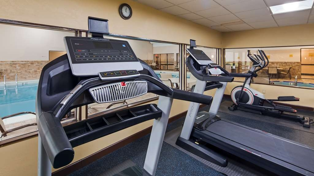 Best Western Hospitality Hotel & Suites - Our fitness center is outfitted with everything you need for a great workout.