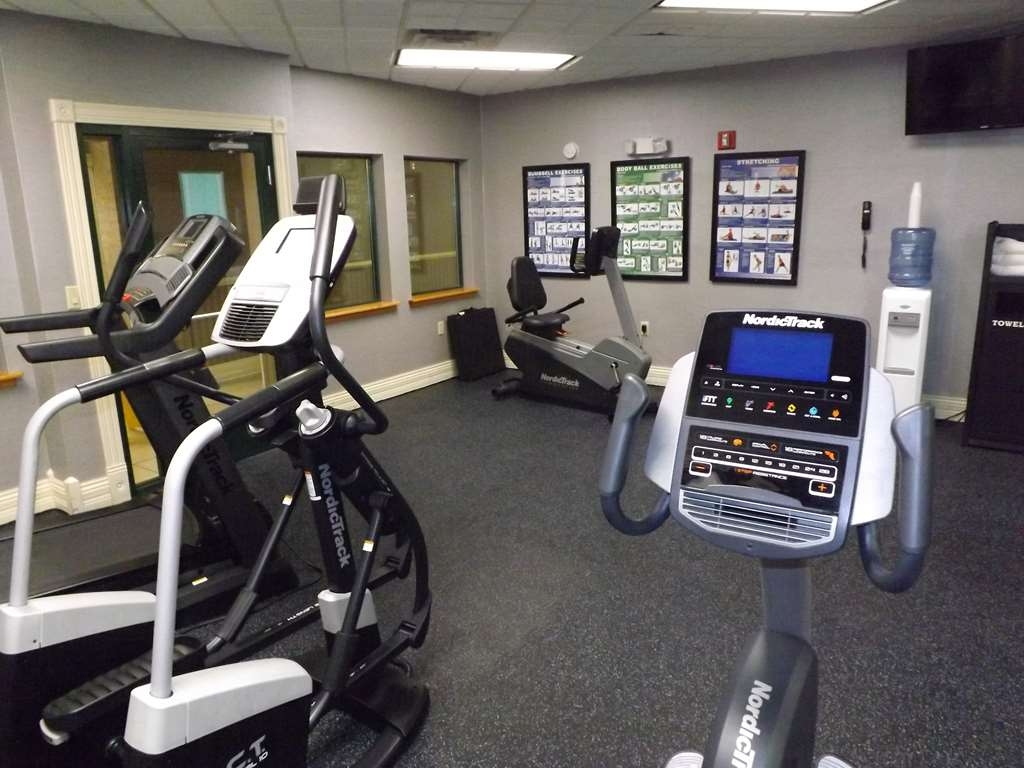 Best Western Plus Kalamazoo Suites - Our fitness center is outfitted with everything you need for a great workout.