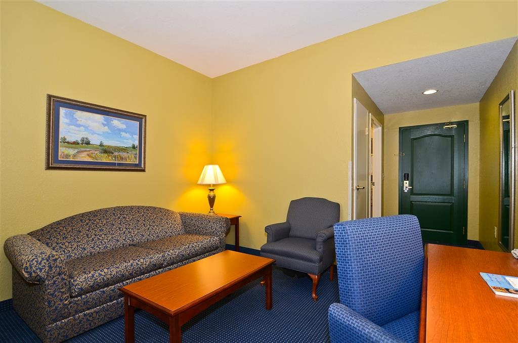 Best Western Executive Inn & Suites - Chambre avec lit king size standard