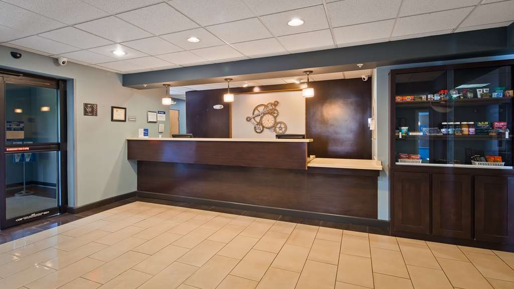 Best Western Plus Coldwater Hotel - Make sure you visit our front desk for help with check in/out.