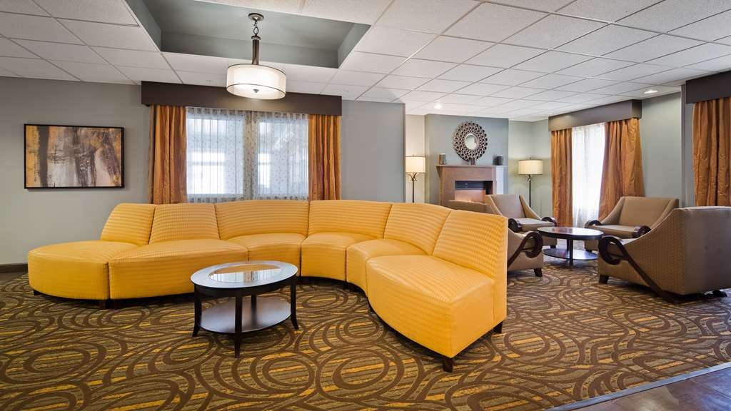 Best Western Plus Coldwater Hotel - Our lobby is the perfect spot to relax after a long day of work and travel.
