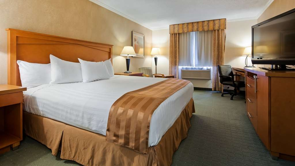 Best Western Davison Inn - Stretch out and relax in the king guest room.