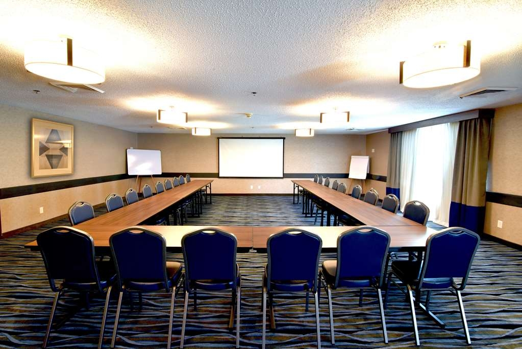 Best Western Plus Flint Airport Inn & Suites - Large Conference Room - Seats up to 83 guests.
