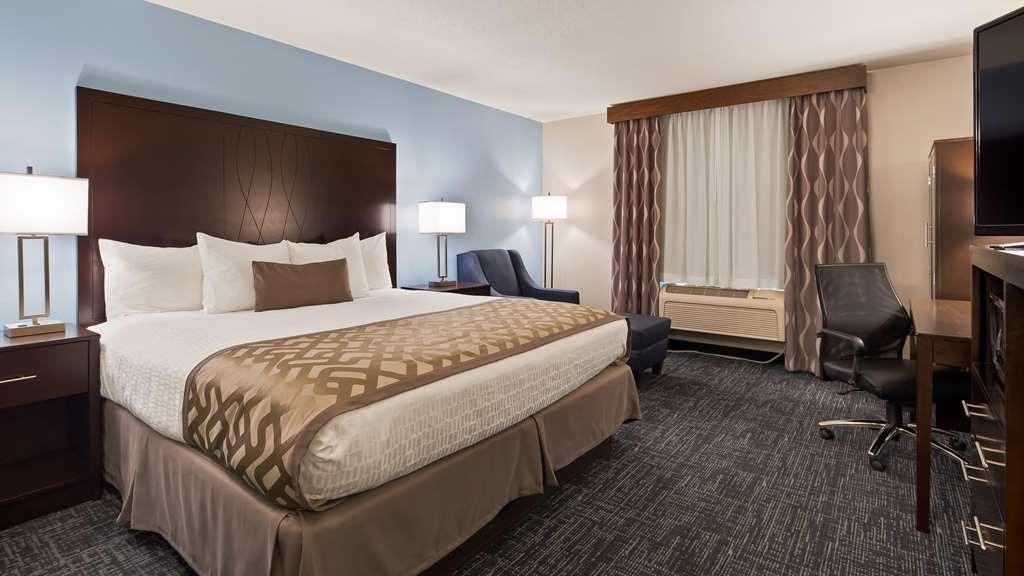 Best Western Plus Flint Airport Inn & Suites - King Standard