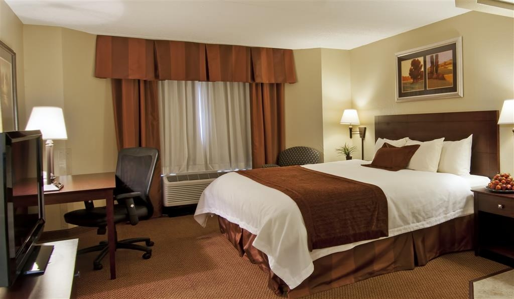 Best Western Plus Dakota Ridge - Our most popular room type is our king guest room which features an ergonomic chair and a writing desk.