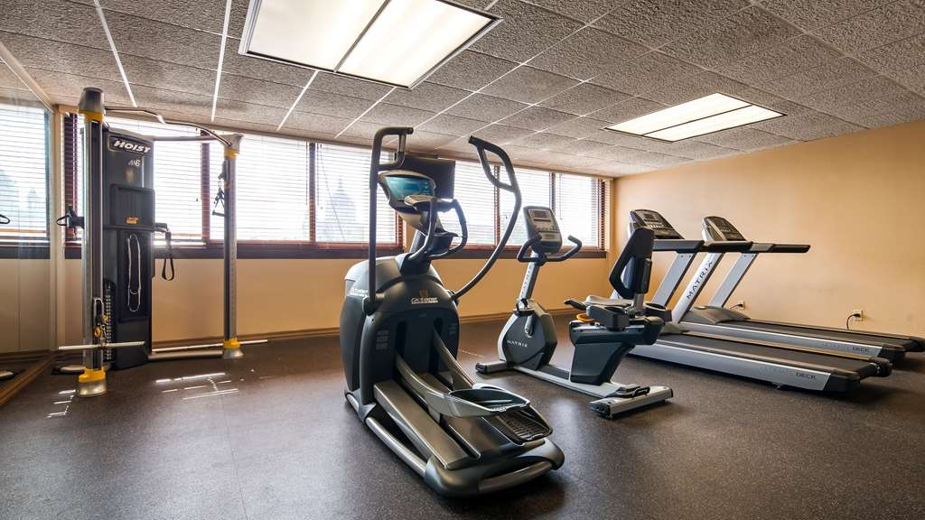 Best Western Plus Capitol Ridge - Our fitness center is equipped with everything you need for a great workout.