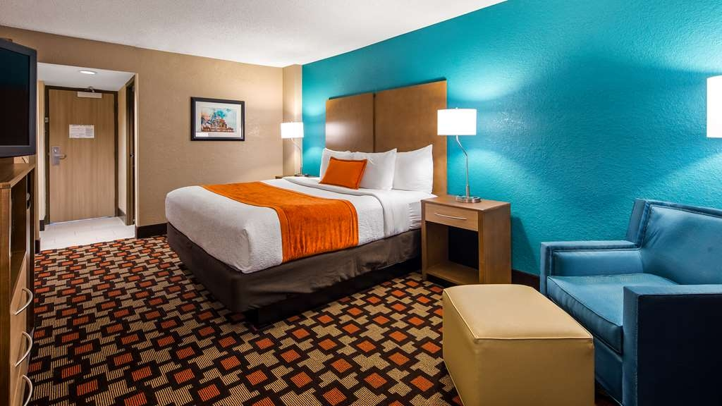 Best Western Plus Capitol Ridge - Stretch out and relax in our One King Guest Room.
