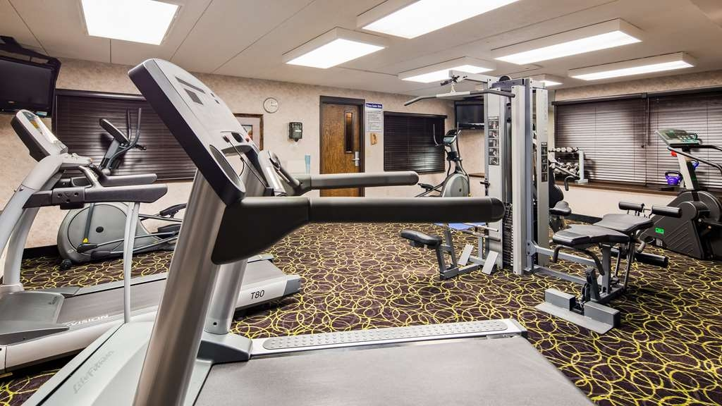Best Western Plus Kelly Inn - Our fitness center is outfitted with everything you need for a great workout.