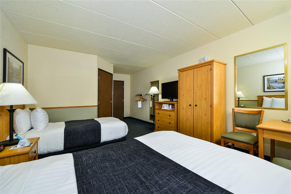 Best Western Bemidji - Mobility Accessible One Double and One Single. No Fridge or Microwave